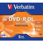 Verbatim DVD-R 8x DL 8,5GB